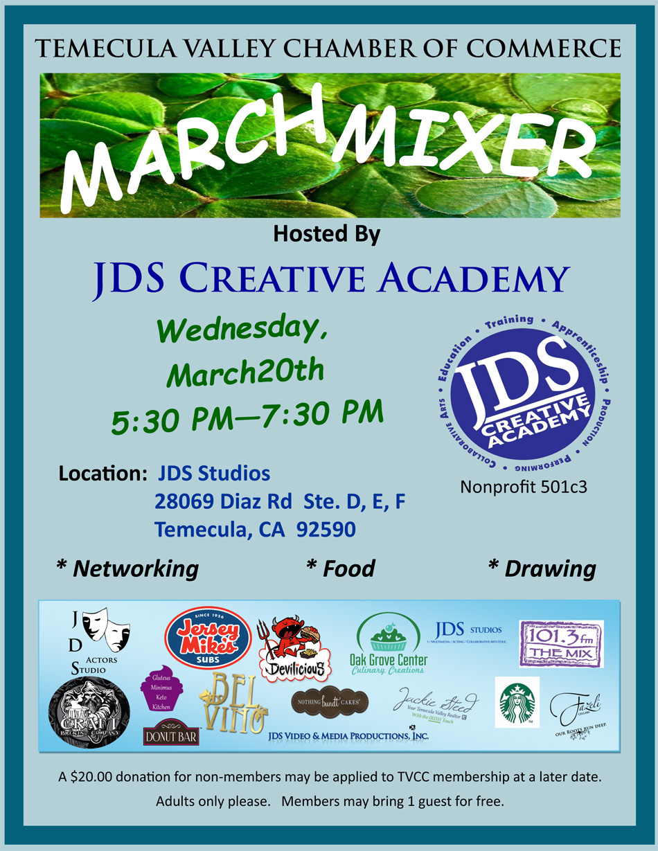 JDS Actors Studio Industry Workshop