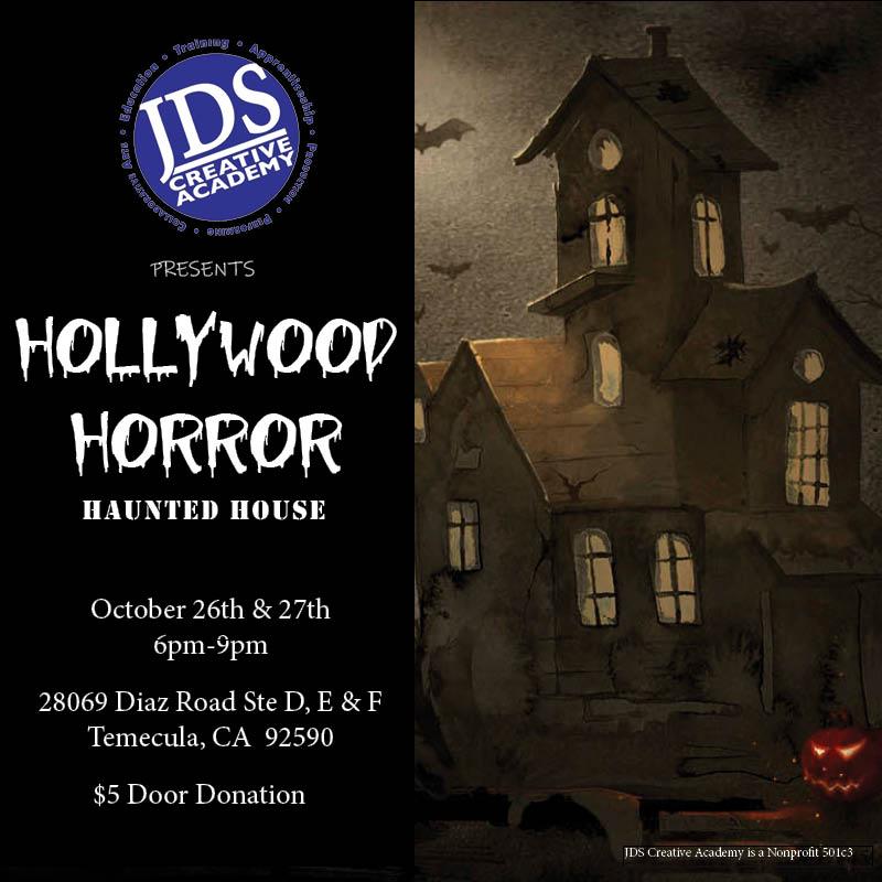JDSCA Hollywood Horror Haunted House