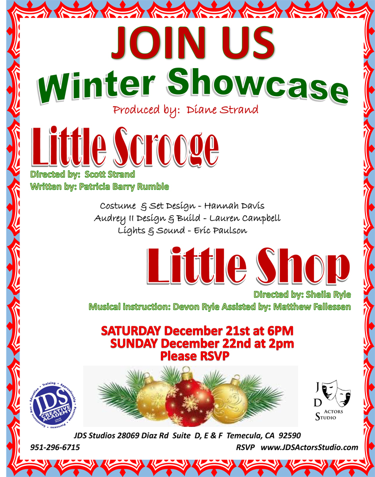 JDS winter showcase